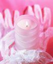 温馨烛光0010,温馨烛光,静物,蜡烛 粉红 火心 火苗 烛火