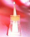 温馨烛光0020,温馨烛光,静物,锥形 蜡烛 燃烧
