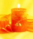 温馨烛光0026,温馨烛光,静物,烛火 蜡烛 铃铛