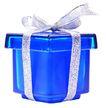礼物0084,礼物,静物,色素 蓝色 包装