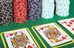 赌具0093,赌具,静物,扑克 筹码 赌博