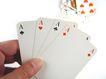 赌具0096,赌具,静物,扑克牌 手指 赌术