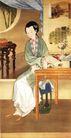 1C0394A,人物名画,中国传世名画,