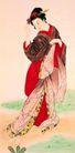 东洋仕女0021,东洋仕女,中国国画,东洋 仕女 人物