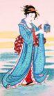 东洋仕女0024,东洋仕女,中国国画,小姐 礼盒 欣赏