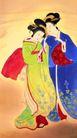东洋仕女0026,东洋仕女,中国国画,中国画 国画 古装