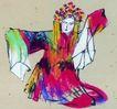 人物-综合0010,人物-综合,中国国画,花旦 相片 戏曲 戏剧服 服装