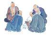 人物-综合0020,人物-综合,中国国画,老寿星 仙翁 聚会