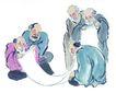 人物-综合0023,人物-综合,中国国画,画卷 欣赏 书生