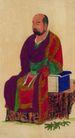 人物-综合0027,人物-综合,中国国画,坐姿 男性 人物画