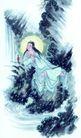 人物-综合0033,人物-综合,中国国画,月亮 环境 仙女