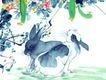 十二生肖0025,十二生肖,中国国画,丝瓜 庭院 蔬菜