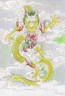 十二生肖0032,十二生肖,中国国画,龙珠 龙舞 龙爪