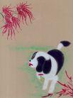 十二生肖0067,十二生肖,中国国画,