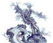 古树奇石0011,古树奇石,中国国画,意境 山石 野外