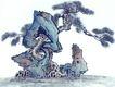古树奇石0015,古树奇石,中国国画,巧妙 怪异 攀爬