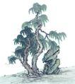 古树奇石0027,古树奇石,中国国画,