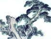 古树奇石0028,古树奇石,中国国画,