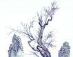 古树奇石0031,古树奇石,中国国画,树木 假山 植物