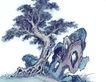 古树奇石0043,古树奇石,中国国画,