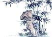 古树奇石0047,古树奇石,中国国画,