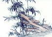 古树奇石0048,古树奇石,中国国画,