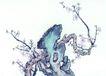 古树奇石0052,古树奇石,中国国画,