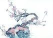 古树奇石0053,古树奇石,中国国画,