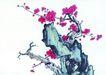 古树奇石0055,古树奇石,中国国画,