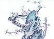 古树奇石0056,古树奇石,中国国画,