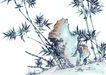 古树奇石0063,古树奇石,中国国画,