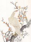 吉祥鸟0030,吉祥鸟,中国国画,花朵 百鸟 果树