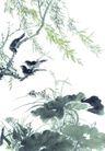 枝头飞乌0028,枝头飞乌,中国国画,