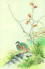 枝头飞乌0045,枝头飞乌,中国国画,
