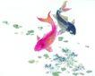 水族世界0026,水族世界,中国国画,