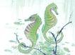 水族世界0042,水族世界,中国国画,