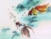 水族世界0054,水族世界,中国国画,