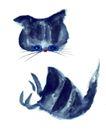 猫专辑0027,猫专辑,中国国画,