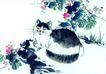 猫专辑0041,猫专辑,中国国画,