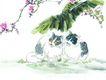 猫专辑0046,猫专辑,中国国画,