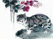 猫专辑0048,猫专辑,中国国画,