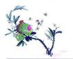 百态昆虫0012,百态昆虫,中国国画,黄蜂 窝巢 飞出