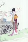 窈窕淑女0041,窈窕淑女,中国国画,