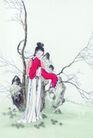 窈窕淑女0046,窈窕淑女,中国国画,