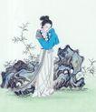 窈窕淑女0047,窈窕淑女,中国国画,