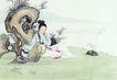 窈窕淑女0048,窈窕淑女,中国国画,