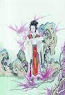 窈窕淑女0049,窈窕淑女,中国国画,