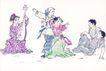 童心童戏0029,童心童戏,中国国画,表演 歌舞 演奏