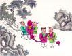 童心童戏0046,童心童戏,中国国画,