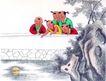 童心童戏0048,童心童戏,中国国画,